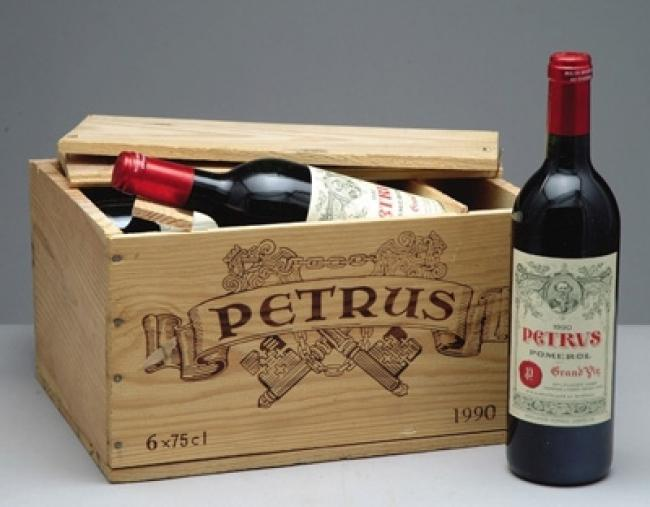 Image of petrus wine
