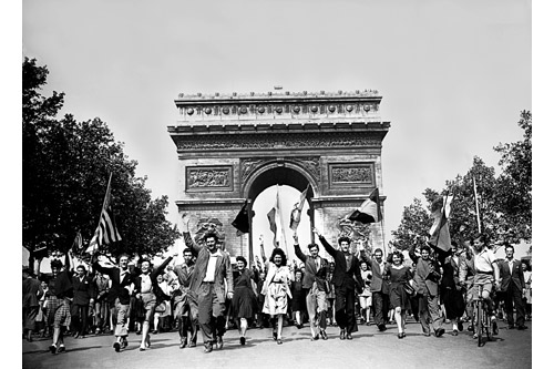 War Victory in Paris