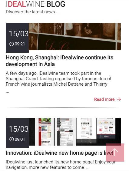 Le Blog iDealwine