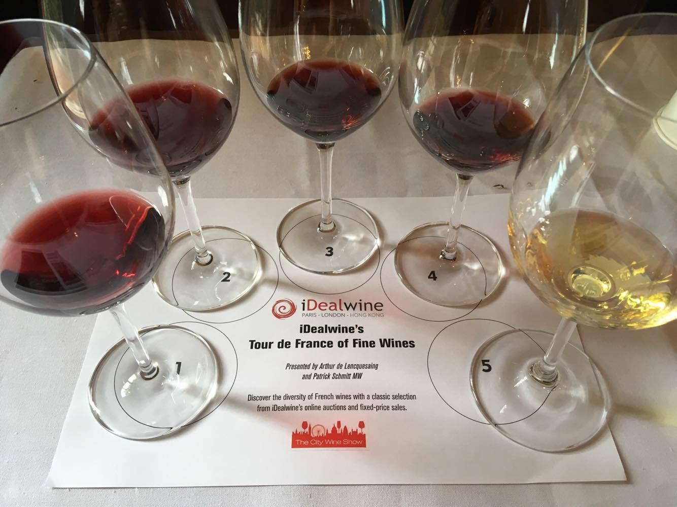 City Wine Show masterclass