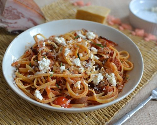 Recipe of the week | Pasta all'amatriciana