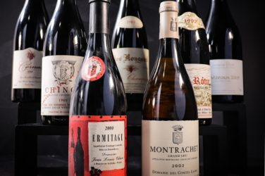 private collection wine auction chave cathelin